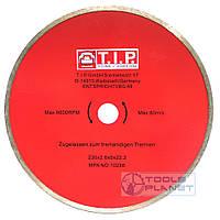 Алмазный диск T.I.P. 230 х 5 х 22,23 Плитка, фото 1