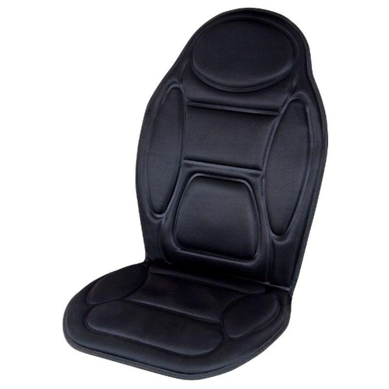 Массажная накидка на сиденье с подогревом 5 мот 12V 96029 массажная (106х48см)