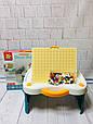 Игровой столик - песочница с конструктором арт. 1039, фото 5