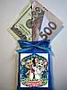 Магніт оберіг Мішок з грошима. Сімейного щастя. Мишка. Щур. Символ 2020 року
