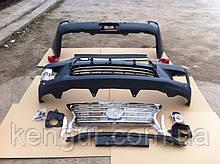 Рестайлинг обвес на Lexus LX570