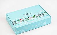 Подарочная коробка Щирі вітання 24х16х5 см, фото 1