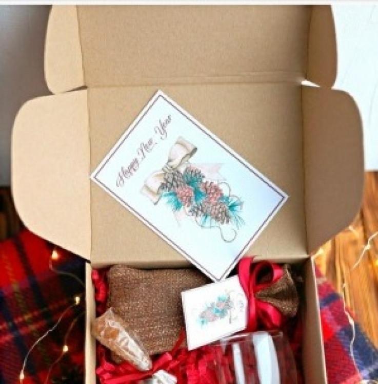Подарочный набор Just coffee, Подарунковий набір Just coffee