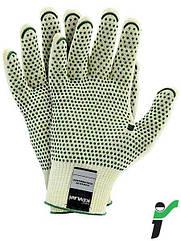 Перчатки защитные трикотажные JS RJ-KEVLAFIBV