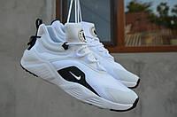Кроссовки Nike Huarache мужские. Плотная ткань/текстиль, подошва ЭВА. Белые SP-1235