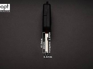 MERCEDES выкидной ключ (корпус) 1 кнопка, лезвие HU64 заготовка