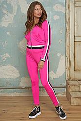 Спортивний костюм жіночий еластан №479