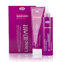 Набір для випрямлення фарбованого волосся або чутливих Lisap Ultimate Kit 2 - 250мл +250мл