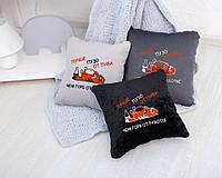 Подушка подарочная коллегам и друзьям «Пузо от пивка»