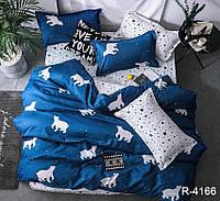 Семейный комплект постельного белья ренфорс
