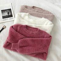 Мягкие свитерки ангора травка