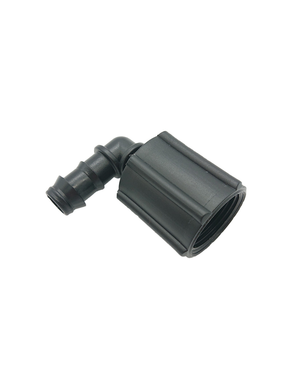 "Угол с резьбой 3/4"" NORRES под шланг 16 мм, пластик (внутр)"