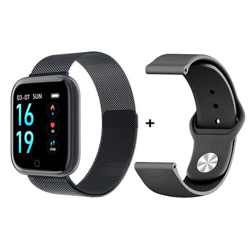 Умный Фитнес-браслет для iOS (Apple) Bend T80, два браслета