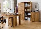 Стол письменный компьютерный из массива дерева 048, фото 4