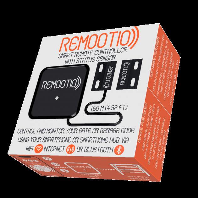 Умный блок управления гаражными Remootio - управляй воротами через смартфон