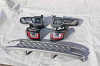 Обвес- решетка радиатора оптика на Toyota FJ Cruiser 2006- стиль Range Rover