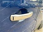 Накладки на ручки дверей Opel Vivaro 2014-2019, турецкая сталь, фото 5