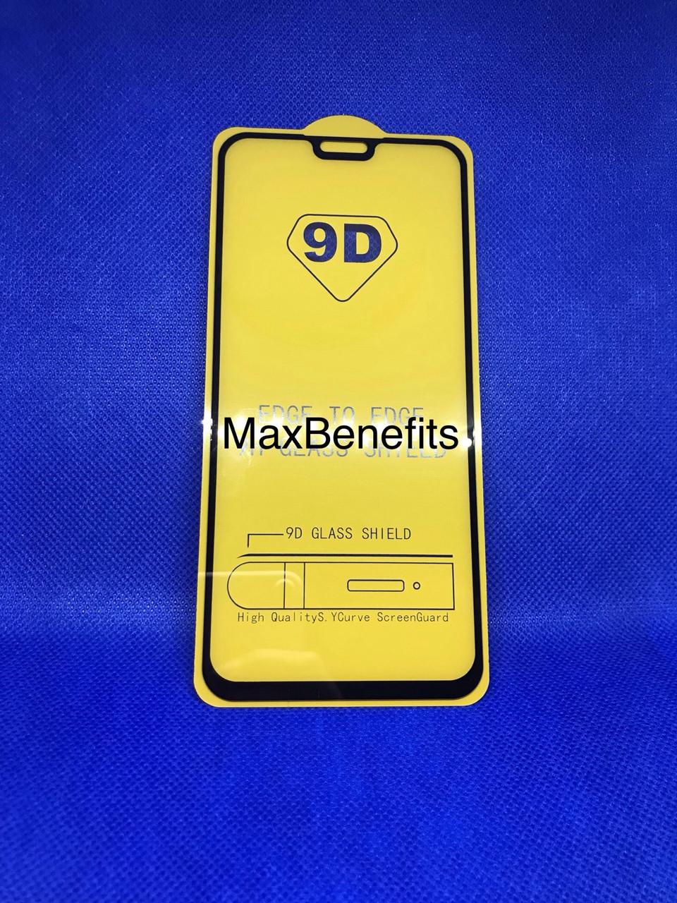 Honor 8X защитное стекло 5D 9D полное покрытие полный клей
