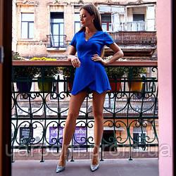 Стильний жіночий комбінезон з креп-барбі №540