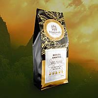 Кофе зерновой Brazil Santos / Бразилия Сантос 500г