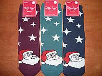 """Махровые женские носки """"Добра Пара"""". Р. 23-25 (36-39). Дед Мороз."""
