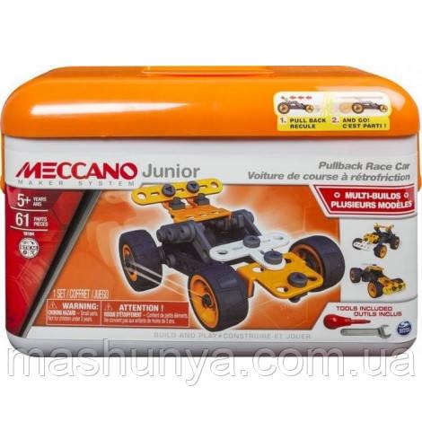 Конструктор Meccano Junior Race Car 5 моделей 61 деталь 6027021/2