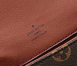Сумка клатч Луї Вітон канва Monogram 18 і 24 см, шкіряна репліка, фото 7