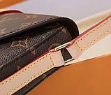 Сумка клатч Луї Вітон канва Monogram 18 і 24 см, шкіряна репліка, фото 6