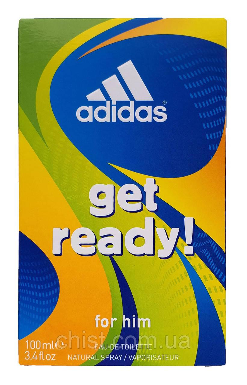 Adidas туалетная вода (100мл) мужская Get Ready