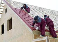 Ремонт крыши, монтаж кровельных материалов