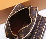 Сумка клатч Луи Витон канва Monogram, кожаная реплика, фото 5