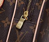 Сумка клатч Луи Витон канва Monogram, кожаная реплика, фото 6