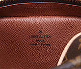 Сумка клатч Луи Витон канва Monogram, кожаная реплика, фото 9