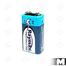 """Батарейка """"Raymax"""" типа Крона (CR-9V, 6F22) 9В"""