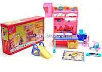 Детская игрушечная мебель Глория Gloria для кукол Барби Детская комната 21019. Обустройте кукольный домик