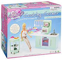 Детская игрушечная мебель Глория Gloria для кукол Барби Кухня 2816. Обустройте кукольный домик