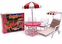 Детская игрушечная мебель Глория Gloria для кукол Барби Отдых на природе 3920. Обустройте кукольный домик