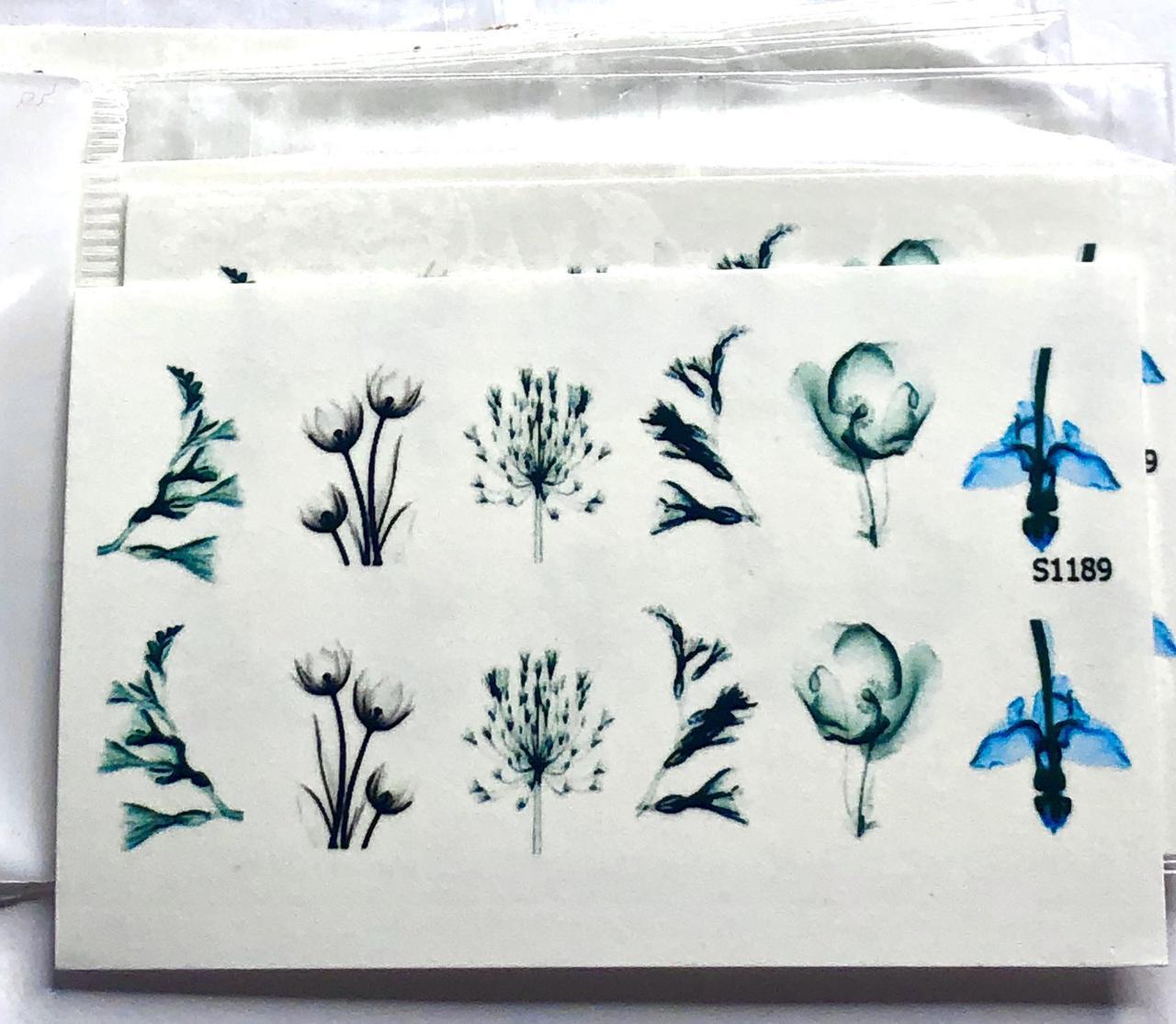 Слайдер-дизайн (водные наклейки, фотодизайн)  S 1189