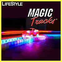 Светящаяся дорога Magic Tracks 360  (2 машинки на батарейках)