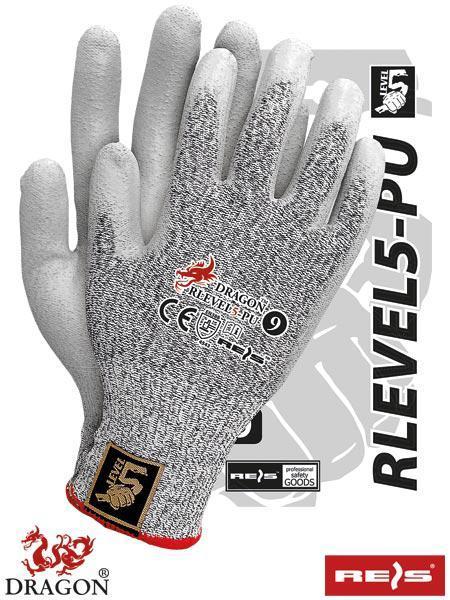 Защитные рукавицы REIS RLEVEL5-PU
