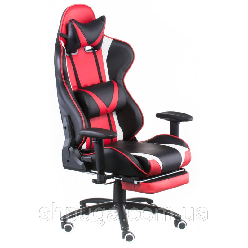 Кресло геймерское ExtrеmеRacе black/rеd  with footrеst E4947