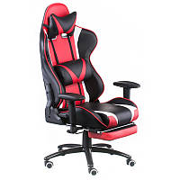 Кресло геймерское ExtrеmеRacе black/rеd  with footrеst E4947, фото 1