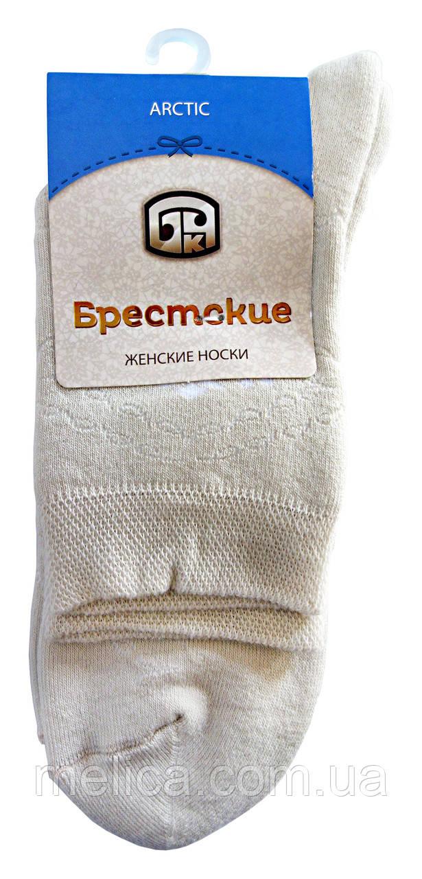 Носки женские махровые Брестские Arctic 15С1408, рис.046, р.23, жемчуг
