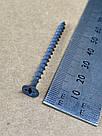 Саморез г\к черный 3.5х55 по дереву фосфатированный 1000+1 (500 шт\уп), фото 4