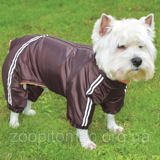 Одежда для собак комбинезон с мехом