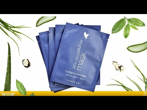 Алоэ Биоцеллюлозная маска/Aloe bio-cellulose mask