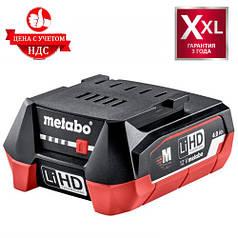 Аккумуляторная батарея Metabo LiHD 12 V, 4.0 Ач