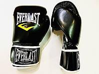 Перчатки боксерские 10 унций ELS  PVS черные, фото 1