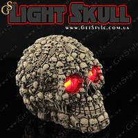"""Нічник Череп - """"Light Skull"""" - 12.5 х 9 см, фото 1"""