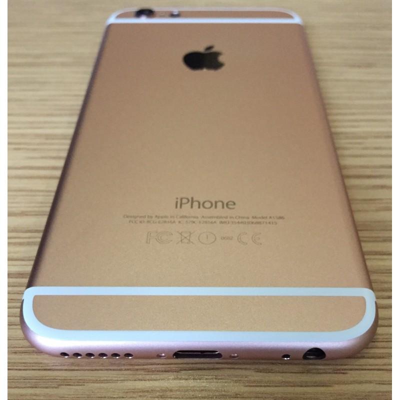 Apple iPhone 6s gold корпус крышка панель